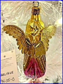 1994 Radko ANGELIQUE Ornament Drop Ball 94-135-0 NWTIB My Last One