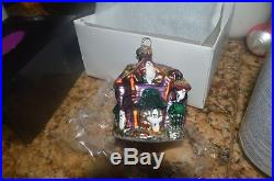 3 Christopher Radko NWT Halloween ornaments/Garlands Howl Manor, Pumpkin Garland