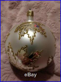 87-010-0 Christopher Radko Scarlett's Wedding Dress Christmas Ornament 4.5