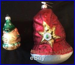 Beautiful Vintage Lot of 37 Christopher Radko Glass Christmas Ornaments