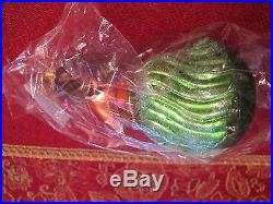 CHRISTOPHER RADKO 1995 ALOHA HAWAII HULA GIRL CHRISTMAS ORNAMENT GREEN SKIRT
