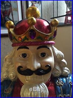 CHRISTOPHER RADKO Five-Foot Nutcracker King Statue