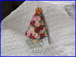 CHRISTOPHER RADKO GLASS ORNAMENT GARDENER'S TREE CHRISTMAS TREE DECORATION