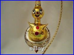 Christopher Radko Mystery Lamp Type Double Ornament 7 Italian