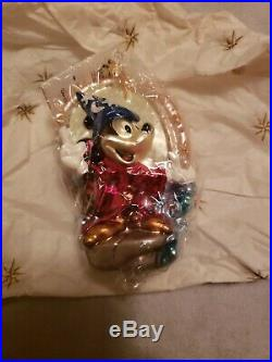 CHRISTOPHER RADKO, Mickey Mouse 70 HAPPY YEARS GLASS ORNAMENTS, 658/1928