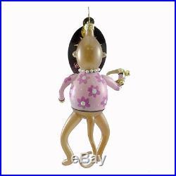 CHRISTOPHER RADKO THE MONKEYS Glass Ornament Pop Rock Band 1014076 Tamborine