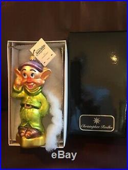 Christoher Radko Disney's Snow White And The Seven Dwarfs