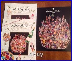 Christopher Radko 1993 Glass Ornament Catalog Plus Starlight Editions