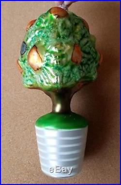Christopher Radko 1993 Partridge in a Pear Tree VERY RARE Only 5,000 Made