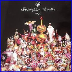 Christopher Radko 1994 Glass Ornament Catalog Plus Starlight Editions
