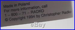 Christopher Radko 1994 MERLIN SANTA CANDY CANE ICICLE CHRISTMAS ORNAMENT MWT 11