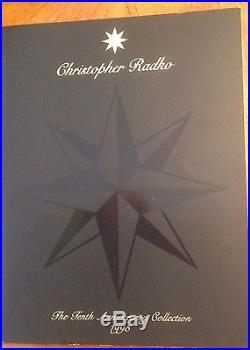 Christopher Radko 1995 Glass Ornament Catalog Starlight Collectors Kit, Folio