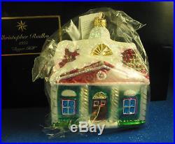 Christopher Radko 1997 Sugar Hill Collection Limited Edition Boxed TRIO NIB