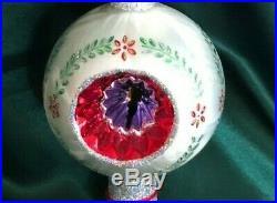 Christopher Radko 2002 Ornament / Finial Brite On Top Christmas Tree Topper