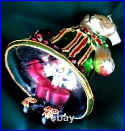 Christopher Radko 2004 Ornament Muffy Jingle Belle