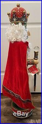 Christopher Radko 36 Crimson Splendor Limited Edition Musical Nutcracker Series