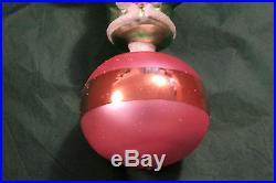 Christopher Radko ALL WEATHER SANTA 3-Tier Christmas ornament, New, VERY RARE