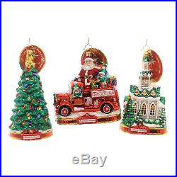Christopher Radko A CHRISTMAS TO REMEMBER 2018 Ornament Of Month St/12 6010174S