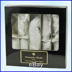 Christopher Radko And Snowy Makes Eight Ornament Ltd Boxed Set 1995 Christmas