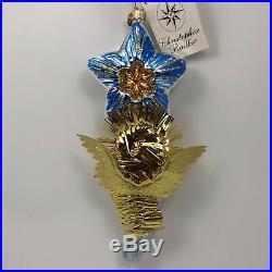 Christopher Radko Angel Star Melody Christmas Tree Holiday Ornament 00-446-0