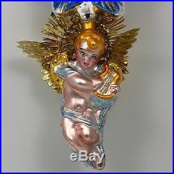 Christopher Radko Angel Star Melody Ornament Christmas Tree Holiday 00-446-0