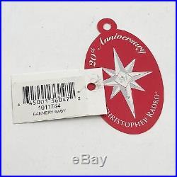 Christopher Radko Bannery Baby Christmas Tree Holiday 2004 Ornament 1011744