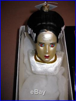 Christopher Radko Bride of Frankenstein Monster Christmas Ornament