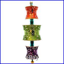 Christopher Radko CHUN KING LIGHTS Glass Ornament Limited Edition