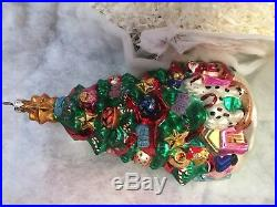 Christopher Radko Christmas Grand Tour Collection (6 over-sized ornaments)-Rare