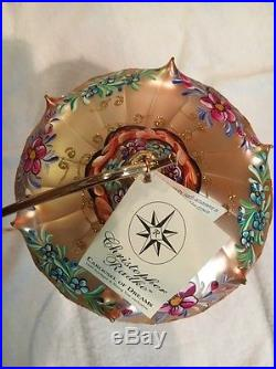 Christopher Radko Christmas Ornament Carousel Of Dreams Limited Large