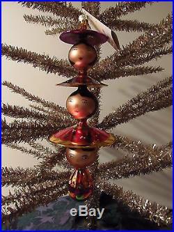 Christopher Radko Christmas Ornament Peking Maidens 2001