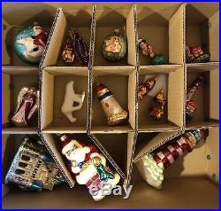 Christopher Radko Christmas Ornaments (56 pc Lot)