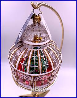 Christopher Radko Crystal Clear Atrium Solarium Limited Edition Ornament