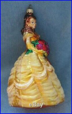 Christopher Radko Disney Gallery Excl. Ornament-1998 Belle