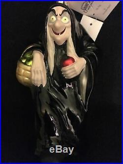 Christopher Radko /Disney Ornament THE HAG Ornament SNOW WHITE & SEVEN DWARFS