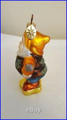 Christopher Radko Disney Snow White And The Seven Dwarfs Ornament Happy