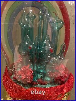Christopher Radko Emerald City Dome Italian Ornament