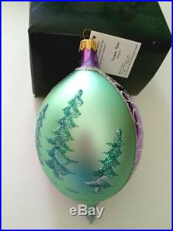 Christopher Radko FOREVER LUCY Lucy's Favorite Christmas Ornament NEW Tag Box