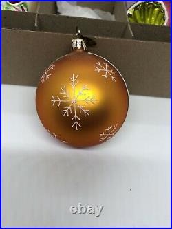 Christopher Radko Fantasia 3 Select Limited Edition Glass Ornaments 01-FAN-CB