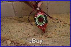 Christopher Radko Fantasia Christmas Ornaments Grandma's Own Vintage Set of 6