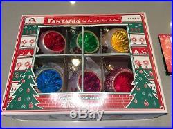 Christopher Radko Fantasia Set of 6 Ornaments, Gorgeous