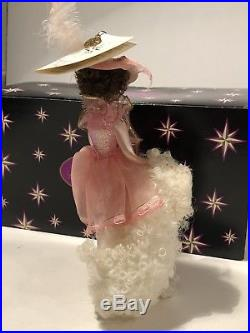 Christopher Radko Felicia and Fed Fed Pink Girl with Poodle Glass Ornament Italy