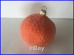 Christopher Radko Fruit Berries Nuts Hand Made Glass Christmas Tree Ornament lot