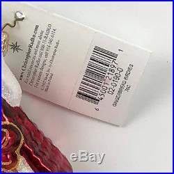 Christopher Radko Gingerbread Birdies Christmas Tree Holiday Ornament 0201900