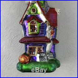 Christopher Radko Halloween No Bodies Home Ornament 1012656 With Tags 2006 Rare