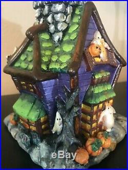 Christopher Radko Halloween Tree & 9 Radko 4 Owc & 3 Dept. 56 Ornament Lot