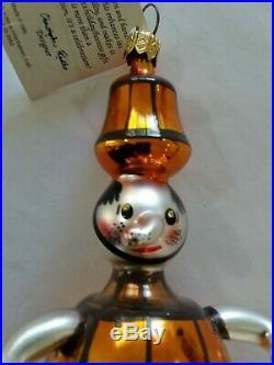 Christopher Radko Italian Blown Glass Ornament PICKLED 1994