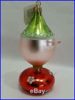 Christopher Radko Italian Blown Glass Ornament PINOCCHIO 1993