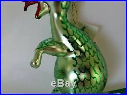 Christopher Radko Italian Blown Glass Ornament Puff 1996 Rare! Vintage