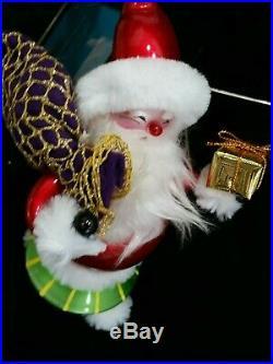 Christopher Radko Italian Blown Glass Ornament RIVER RUNNER 2006